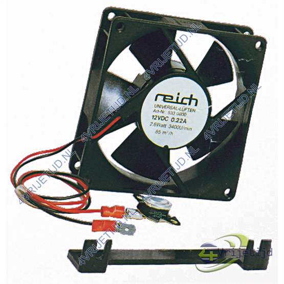 Reich Ventilator Set 12V 2,6W