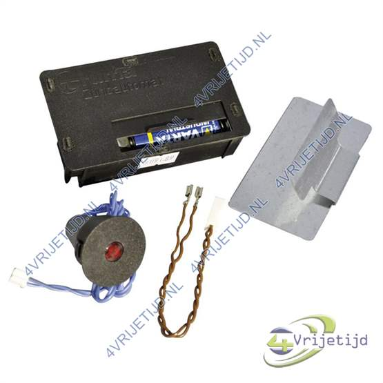 Piezo ontsteking op batterij
