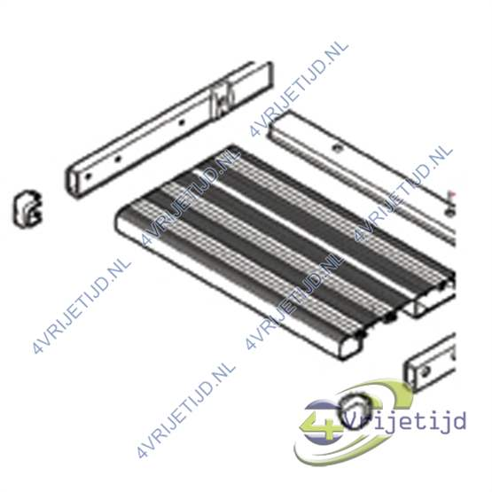 1500601143 - Thule Omnistep Footboard compleet  Slide Out 400X420 - afbeelding 1