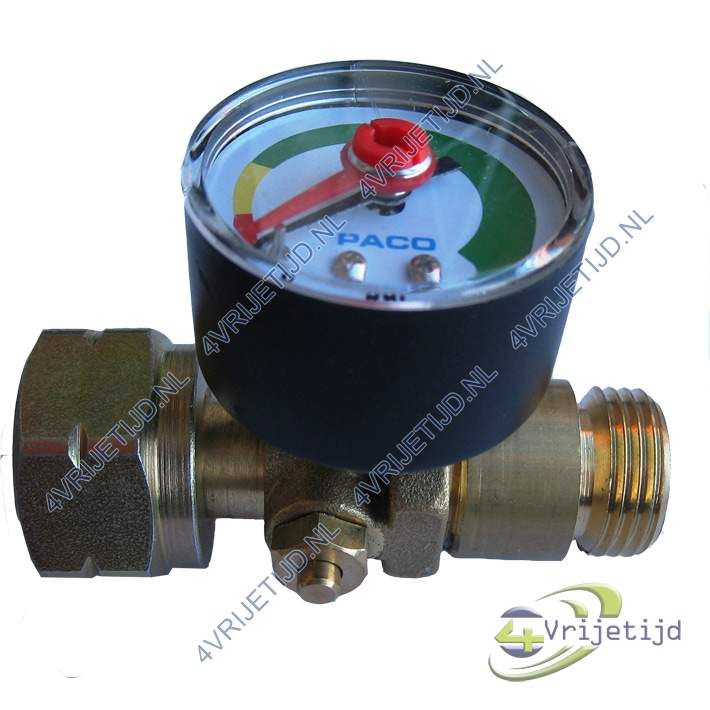 Gimeg coupe gaz inlaat kombi uitlaat Shell