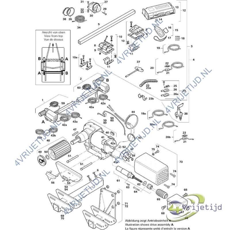 product informatie truma afdekplaat a se r. Black Bedroom Furniture Sets. Home Design Ideas