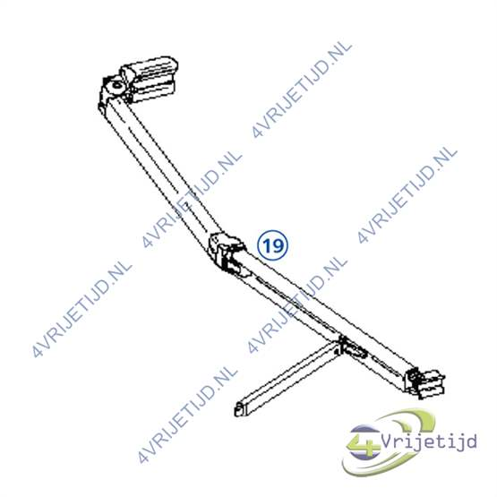 Thule Right Hand Spring Arm 9200