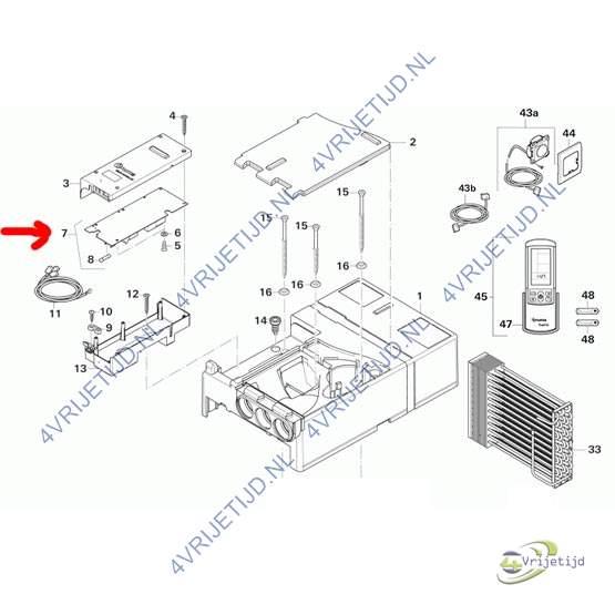 product informatie truma saphir comfort rc printplaat. Black Bedroom Furniture Sets. Home Design Ideas