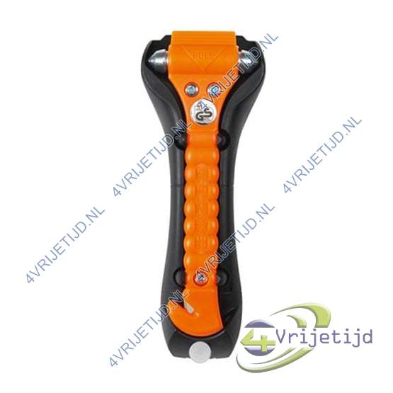 Carpoint lifehammer glow in the dark oranje