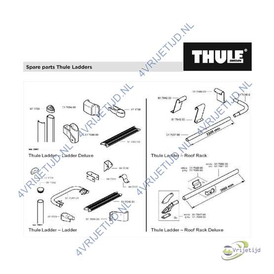 1500600517 - Thule LH ladder support 80mm/20 - afbeelding 4